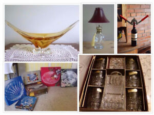 Looking for Household Items?  Then Come to a De-Cluttering Sale.