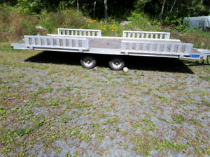 Sport and utility trailer