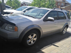 Ford Freestyle SEL, 3rd row seat,  Leather, 2006 AS IS