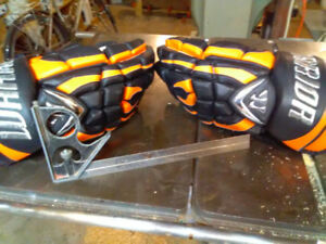 Orange Warrior Mac Daddy gloves used once