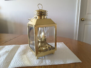 Oil lamps and storm lantern