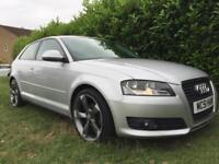 "2009 59 Audi A3 1.9TDIe SE 10 SERVICE STAMPS 18"" ALLOYS IMMAC"