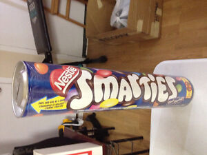 Nestle smarties change collector 1feet tall new!!