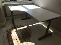 IKEA Galant Desk White in excellent condition