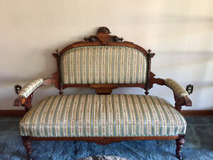 Antique Victorian Style Setee Sofa