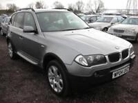 2004 04 BMW X3 2.5 SPORT 5D AUTO 190 BHP