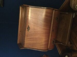 Antique Desk and Half Moon Table - Moving Sale
