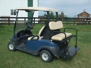 Rear seat for golf cart