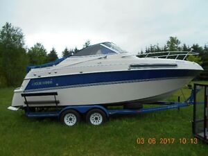 FOURWINNS CRUISER WITH TRAILER/AWESOME CONDITION!