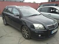 TOYOTA AVENSIS ESTATE 2007 , Start and Drive