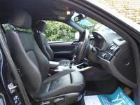 2012/62 BMW X3 2.0 20D M SPORT XDRIVE AUTOMATIC 5DR BLACK - WIDESCREEN PRO NAV