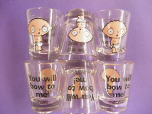 Stewie Griffin Shot Glasses