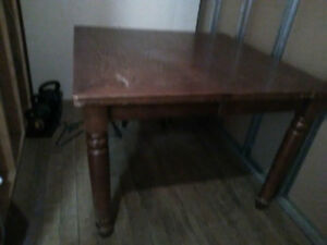 Beautiful Dining RM TABLE Solid Wood--Delivery