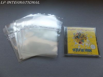 50 - CD Mini LP Outer Resealable Plastic Sleeves Outer Made in Japan