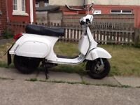 Vespa Lml star lite 125cc scooter, 66 reg, may deliver
