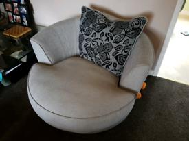Furniture villages swivel armchair