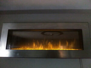 Wall hanging electric fireplace for sale..