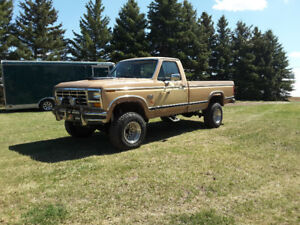 1984 FORD F150 4x4