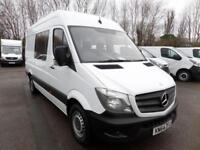 Mercedes-Benz Sprinter 313 Cdi MWB 3.5T Crew Van DIESEL MANUAL WHITE (2014)