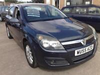 2006 VAUXHALL ASTRA DESIGN 5DR AUTOMATIC