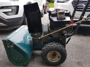 "Snowblower 24""  8 hp"