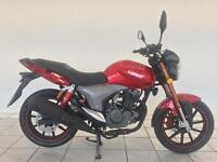 2016 KEEWAY RKV 125 MOTORCYCLE IN METALLIC RED