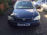 Automatic 1.6 Vauxhall astra on 02 reg very cheap