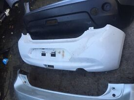 Genuine Nissan Micra front and rear bumper other Nissan available can post wing and headlight