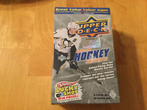07/08 UD Sealed 12 Pack Blister Box Hockey Series Two