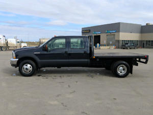 04 F350 Powerstroke Dually . Trailteck Deck