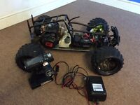 29cc two stroke rc monster truck