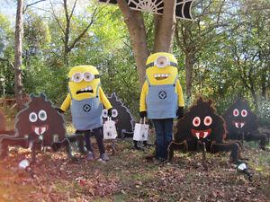Two Minion Mascot Costumes for Children Sarnia Sarnia Area image 2