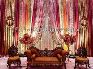 MISSISSAUGA AND BRAMPTONS BEST INDIAN STYLE WEDDING BACKDROPS