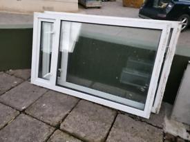 2 uPVC windows