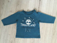 Designer baby boys Timberland long sleeved tshirt top 6months