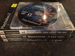 PS2 Wrestling Games