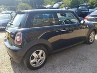 Mini Mini 1.6 One BLACK WARRANTY 12 MONTHS MOT FULL SERVICE HISTORY