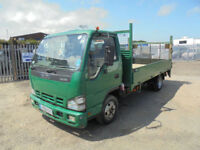 2008 08 ISUZU NKR 3.0 TURBO DIESEL 13ft FLATBED PICK UP TRUCK IDEAL FOR EXPORT