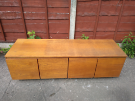 Upcycling project - TV unit to cupboards