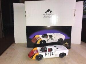 1/18 DIECAST Exoto Motorbox Gold Porsche 910 C.Biscaldi P174