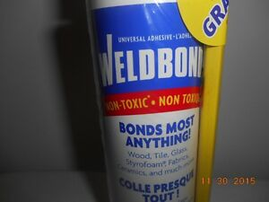 box of 12 of weldbond glue bottle Kitchener / Waterloo Kitchener Area image 1