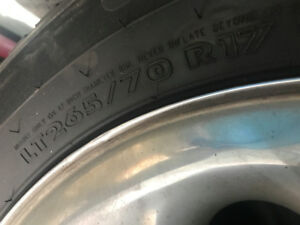 WINTER RIMS AND TIRES - ICE PRO 265/70 R17