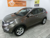 2011,Kia Sportage 2.0CRDi AWD KX-2***BUY FOR ONLY £50 PER WEEK***