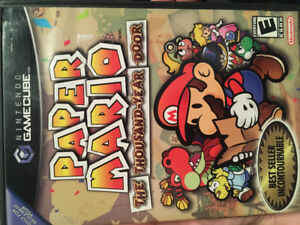Paper Mario The Thousand Year Door for Game Cube
