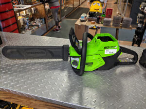 Greenworks 60V Max Lithium Ion Chainsaw