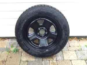 Practically new Toyo winter tires with Rims