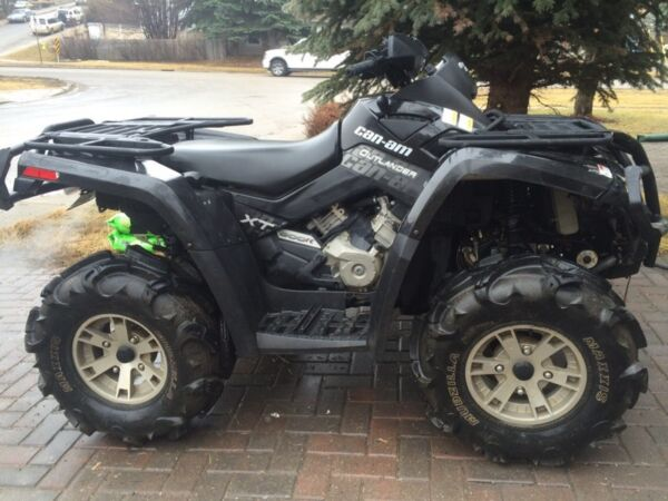 Used 2009 Can-Am Outlander 800 XT