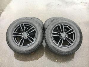 4 mags noir et pneus d'hiver Nexen NEUF pour Honda Ridgeline