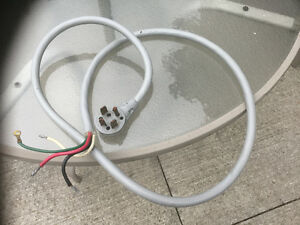 6 FOOT ELECTRICAL CORD 4 WIRE London Ontario image 1