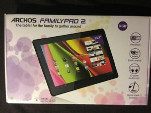 "ARCHOS  FAMILY  PAD 2   13.3""  TABLET  PC  NOT SAMSUNG"